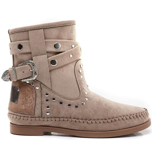 Ibiza boots khaki