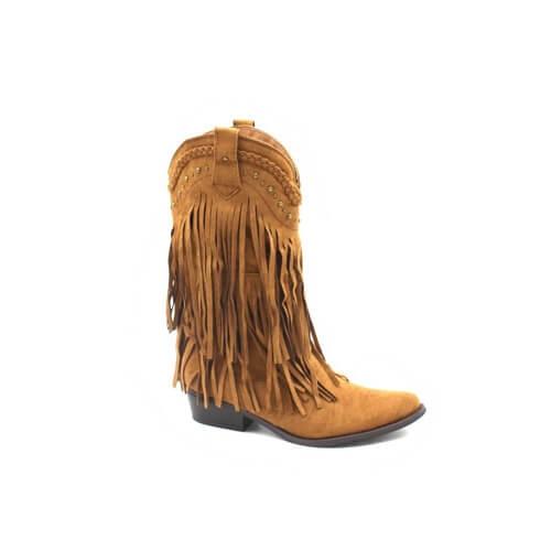 Ibiza boots fringes en studs