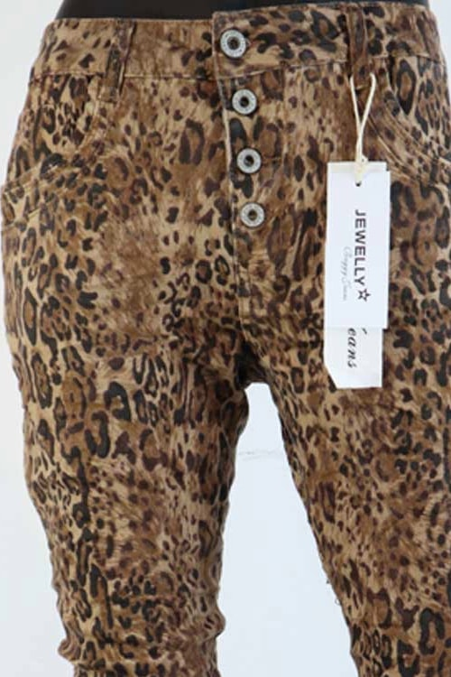 Jewelly comfy panter jeans