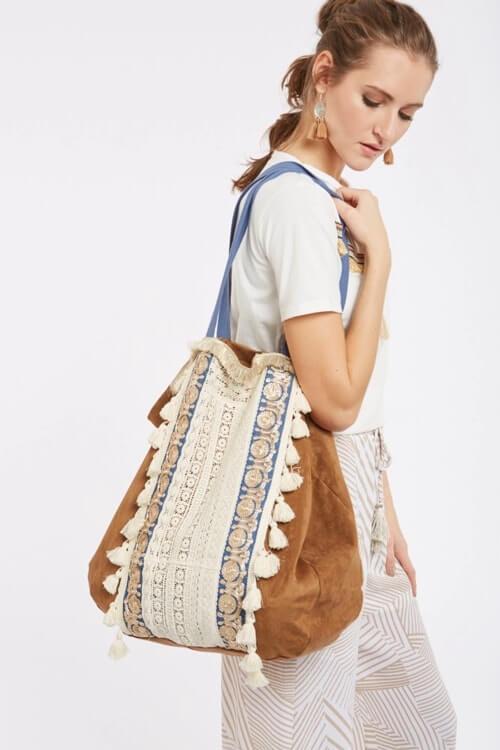 Meisie bohemian bag