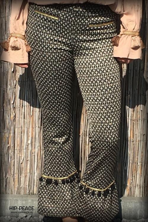 NKN Nekane Traviata jacquard trousers