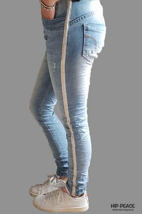 Place du Jour jeans met bies 90041-C23