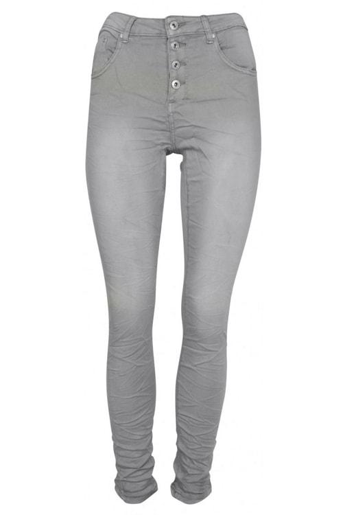 Place du Jour jeans lichtgrijs 90109