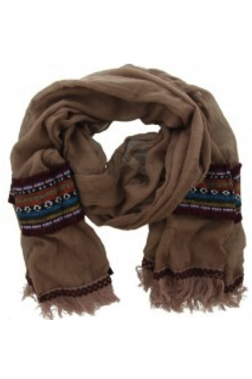 scarf brown ibiza boho