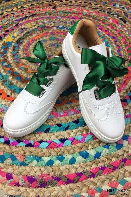 Rebelz sneaker ster groen