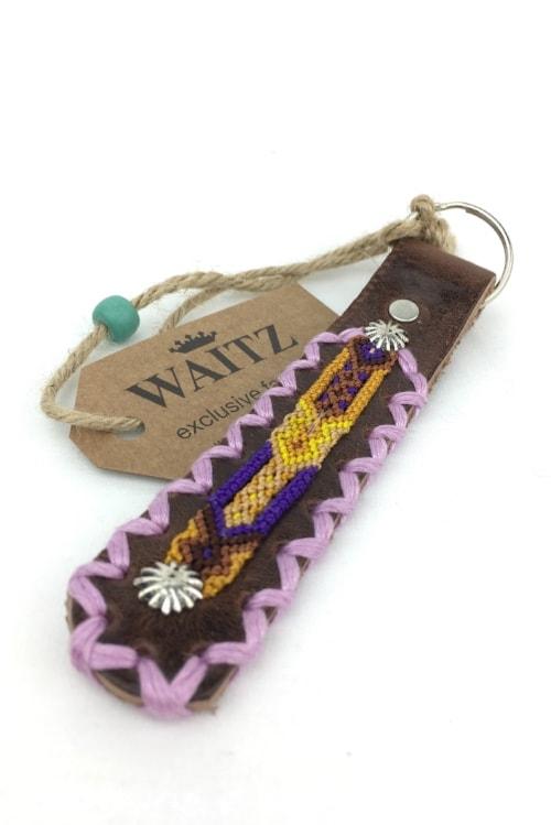 Waitz keyring purple