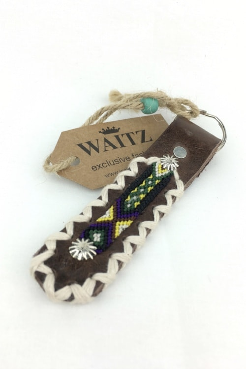 Waitz keyring yellow