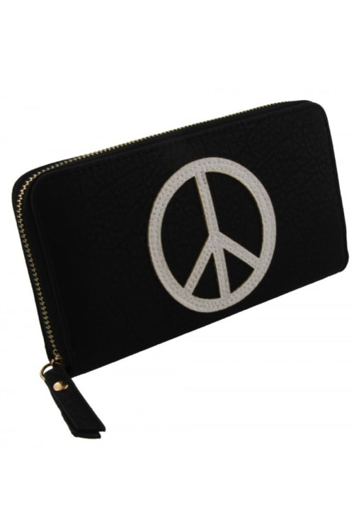 Wallet peace white