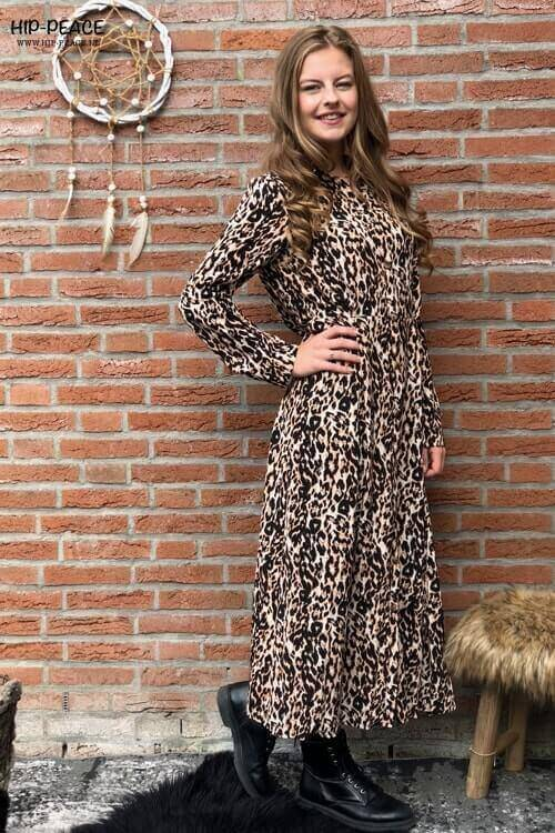 Leopard dress long