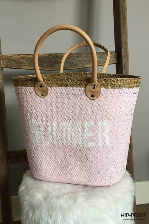 Beach bag little pink