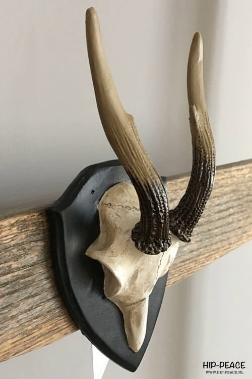 Hip-Peace home wandornament skull