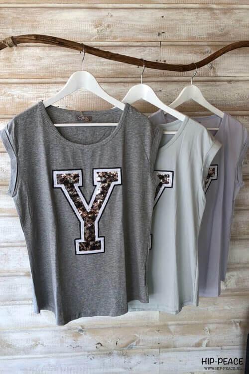 T'shirt grey Y