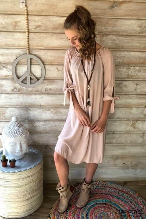 Tunic long-pink
