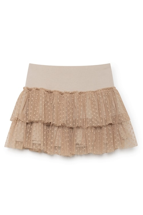 NKN Nekane Ana mini skirt almond