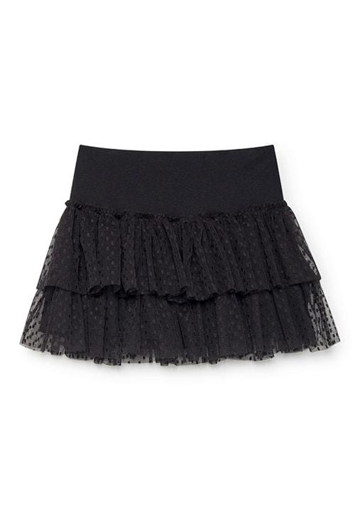NKN Nekane Ana mini skirt zwart