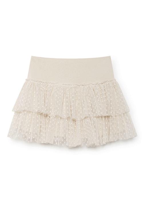 NKN Nekane Ana mini skirt creme