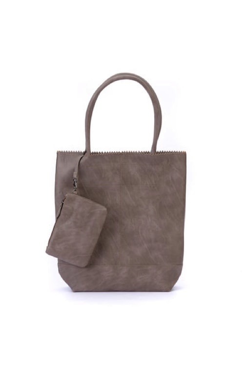 Zebra natural bag kartel - taupe